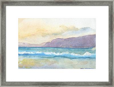Ballenskelligs Beach Framed Print