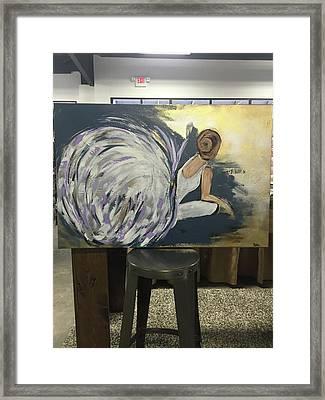 Ballerina Framed Print by Alisha Sartin
