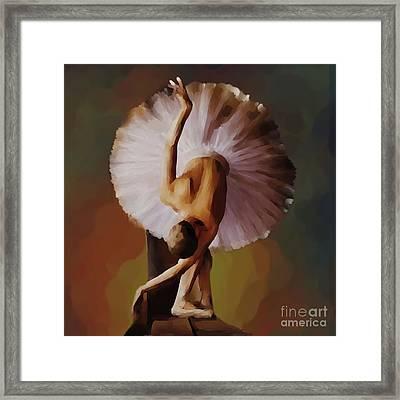 Ballerina Art 0421 Framed Print by Gull G