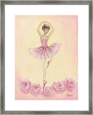 Ballerina Beauty Painting Framed Print
