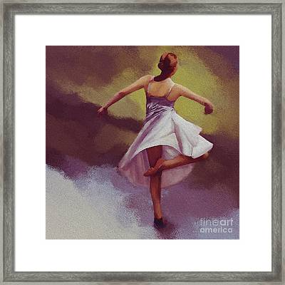Ballerina Dance 0391 Framed Print by Gull G