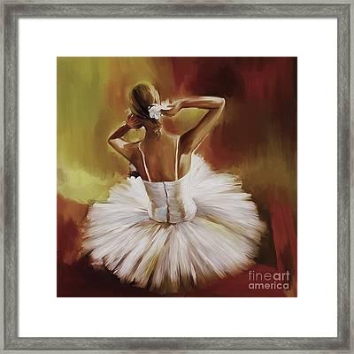Ballerina Dance 0444g Framed Print
