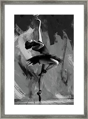 Ballerina Dance 0901 Framed Print by Gull G