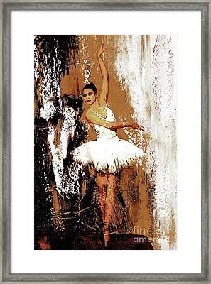 Ballerina Dance 093 Framed Print by Gull G