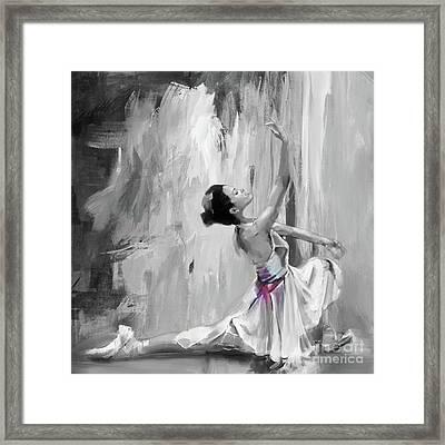 Ballerina Dance 45hk Framed Print by Gull G