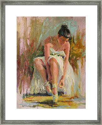 Ballerina Framed Print by David Garrison
