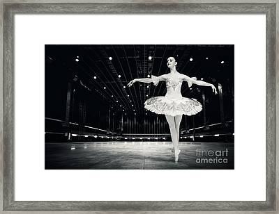 Framed Print featuring the photograph Ballerina by Dimitar Hristov
