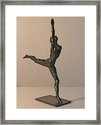 Ballerina Framed Print by Gary Kaemmer