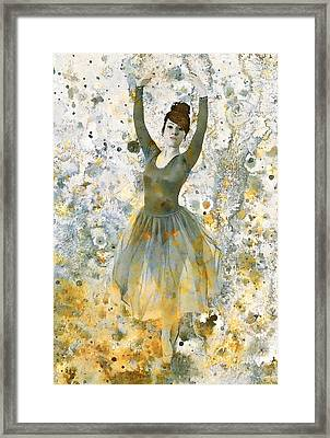 Ballerina Girl  Framed Print