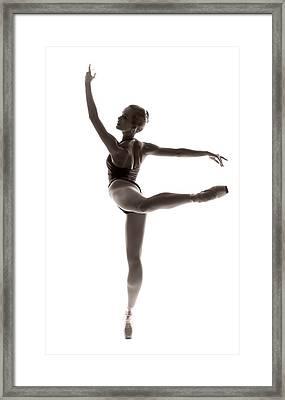 Ballerina Grace Framed Print