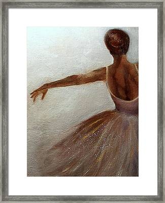 Ballerina  Framed Print by Michele Carter