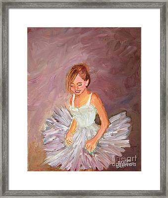 Ballerina  Framed Print by Stella Sherman