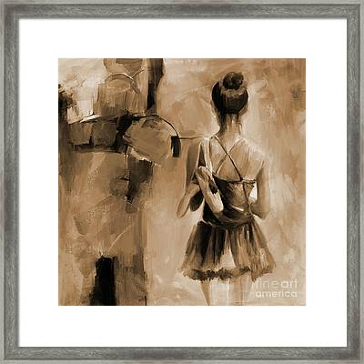 Ballerina Woman 03321 Framed Print by Gull G
