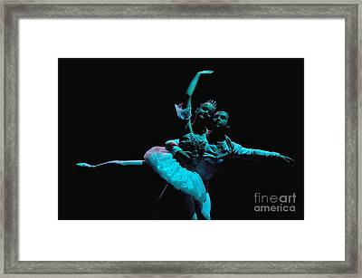 Ballet 1 Framed Print by Reb Frost