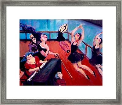 Ballet Class Framed Print