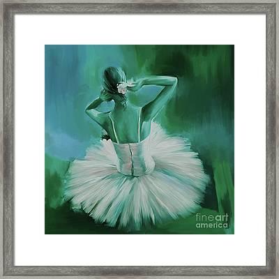 Ballet Dance 044ec Framed Print