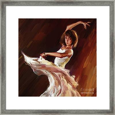Ballet Dance 0706  Framed Print