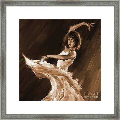 Ballet Dance 0801 Framed Print