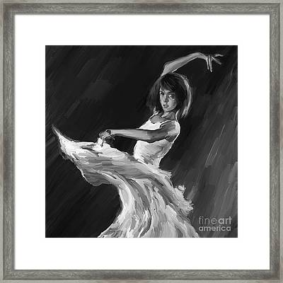 Ballet Dance 0905 Framed Print