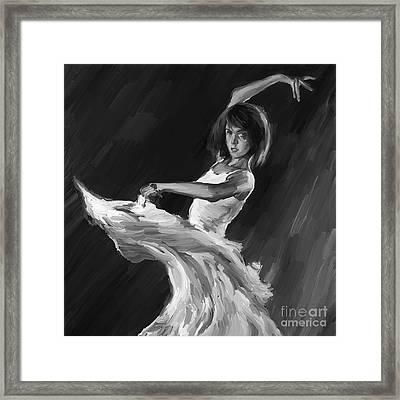 Ballet Dance 0905 Framed Print by Gull G