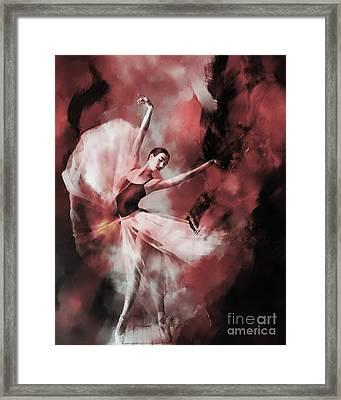 Ballet Dance 3323 Framed Print by Gull G