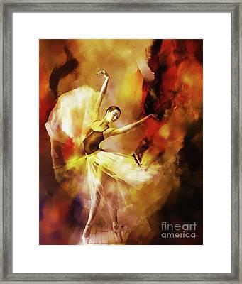 Ballet Dance 3390 Framed Print by Gull G