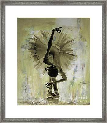 Ballet Dance 67yh Framed Print
