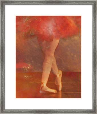 Ballet Dancer Framed Print by Catherine Alfidi