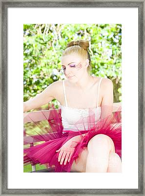Ballet Dancer Framed Print by Jorgo Photography - Wall Art Gallery