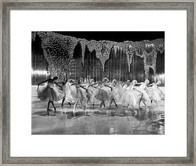 Ballet Dancers Framed Print by Underwood Archives
