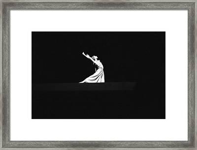 Ballet Framed Print by Emanuel Tanjala