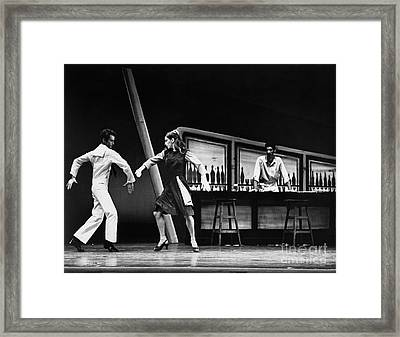 Ballet Fancy Free C1970 Framed Print by Granger
