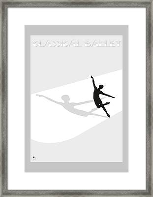 Ballet Framed Print by Joaquin Abella