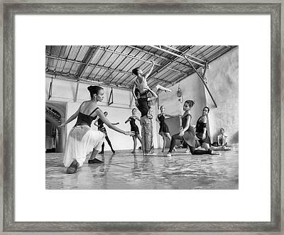 Ballet Practice - Havana Framed Print