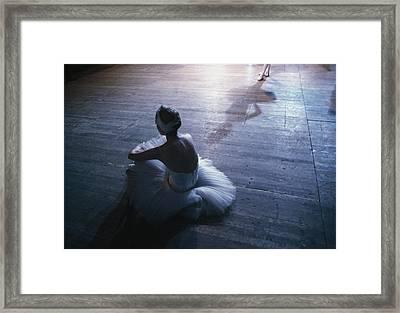Ballet Rehearsal, St. Petersburg Framed Print