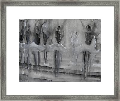 Ballet Sleeping Beauty Framed Print
