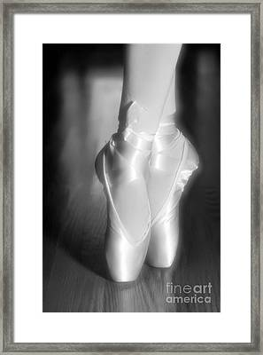 Ballet Slippers Framed Print by Elizabeth Coats