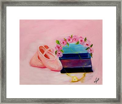 Ballet Still Life Framed Print by Joni McPherson