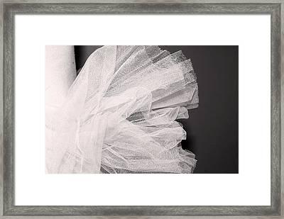 Ballet Tutu Framed Print