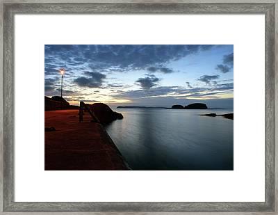 Ballintoy Dawn Framed Print