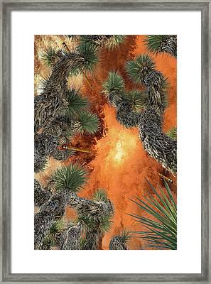 Ballistic Pencils Pnl 3 Framed Print by Billy Cox