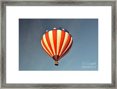 Ballons Over Tampa Framed Print by John Black