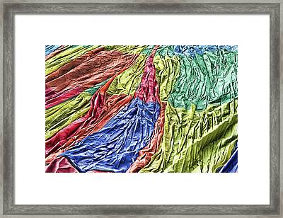 Balloon Abstract 1 Framed Print by Marie Leslie