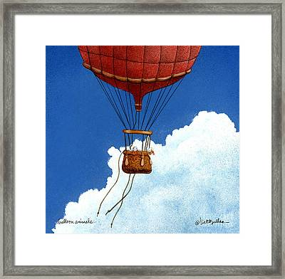Balloon Animals... Framed Print by Will Bullas