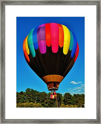 Balloon Colors Framed Print
