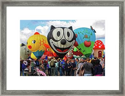 Balloon Fiesta Albuquerque II Framed Print