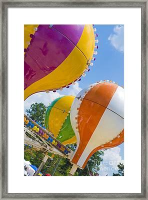 Balloon Fun Framed Print by Maureen Norcross
