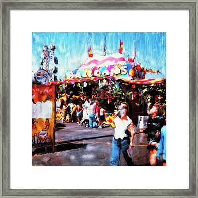 Balloon House Framed Print by Paul Tokarski