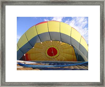 Balloon Inflation Framed Print by Jim DeLillo