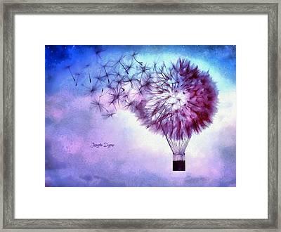 Balloon Framed Print by Leonardo Digenio
